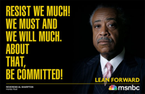 al sharpton resist we much