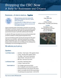 crc flyer