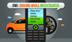 texting driving intexticated