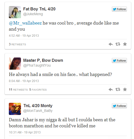 Boston Marathon friend tweets5