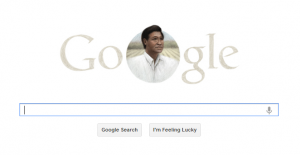 Cesar Chavez Easter Deified by Google