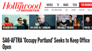Occupy Portland Hollywood Reporter