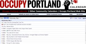 Occupy Portland MayDay 5-1-13