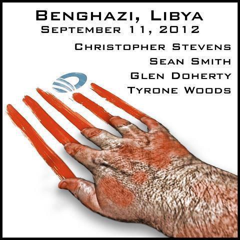benghazi bloody hands