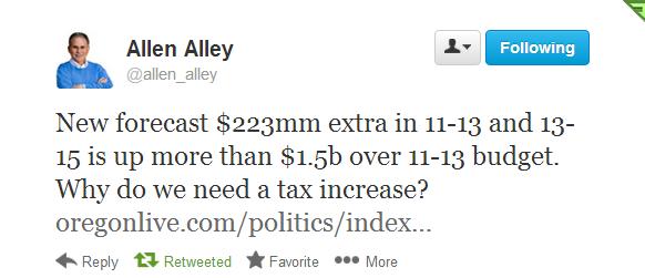 Allen Alley tweet
