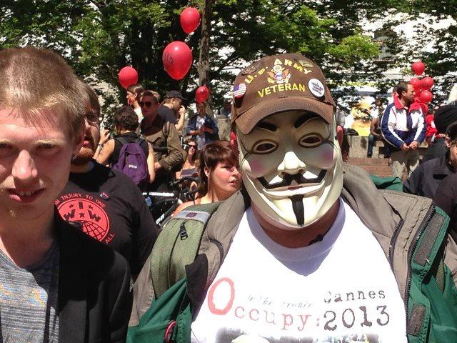 May Day 2013 guy fawkes