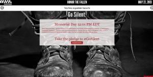 Memorial Day Go Silent