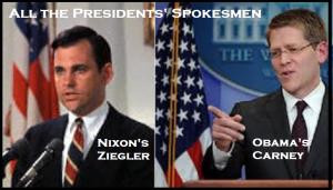 Obama Nixon spokesmen