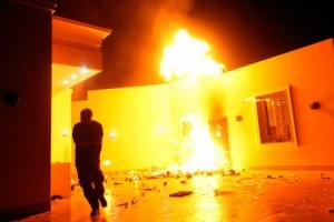 benghazi fire