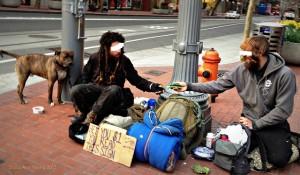 Portland Street Kids flicker shot