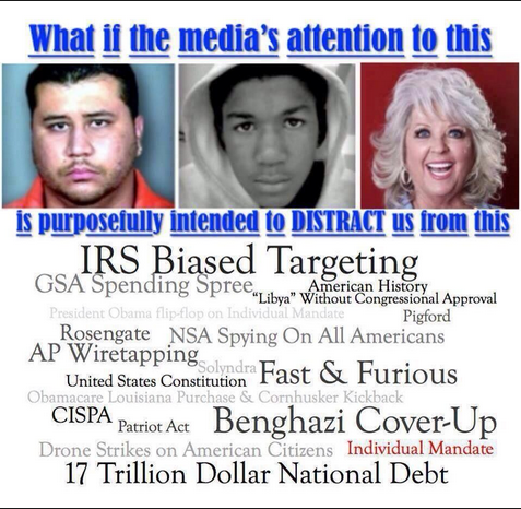Dont Be Distracted Real Issues In >> Media Distract Citizens From The Real Issues Look At This And See