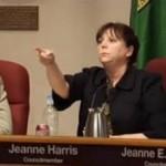 Jeanne Harris Out