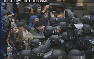 Occupy Portland N17 ICONIC PHOTO