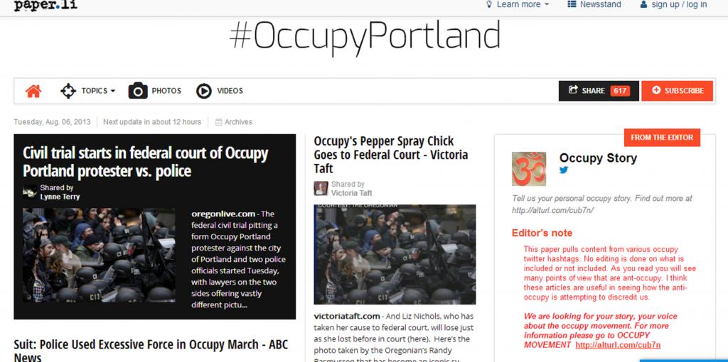 Occupy Victoria