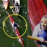 obama mask kayak