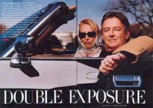 Celebu-Spy Valerie Plame and Joe Wilson