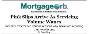 Mortgage layoffs