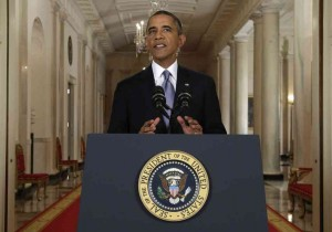Obama gives confused speech about Syria from White House