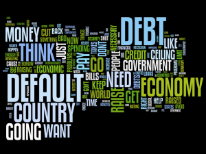 Word cloud of Senator Chuck Schumer's speech on debt ceiling.
