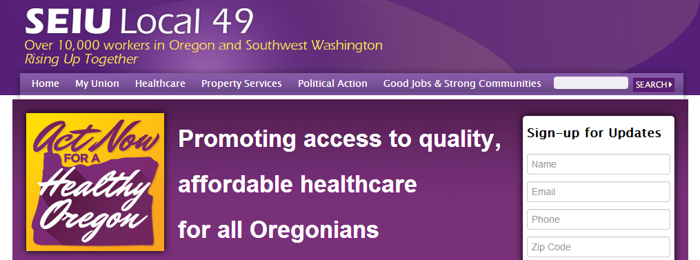 ACT NOW FOR A HEALTHY OREGON