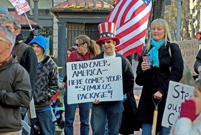 Tea Party Feb 27, 2009 Stimulus Package
