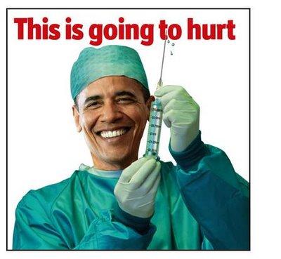 Obamacare obama with needle