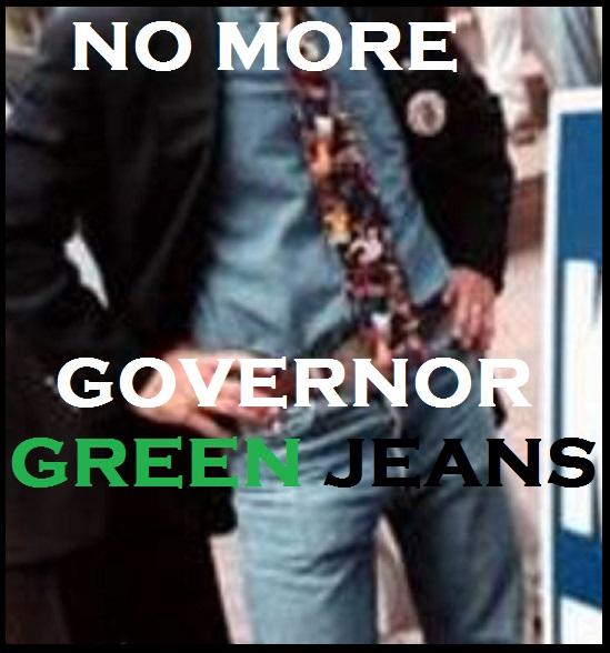 KITZ GOV GREEN JEANS