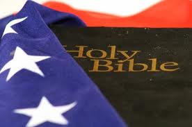 christian nation Bible flag