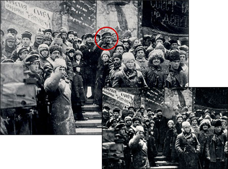 trotsky removed from picture