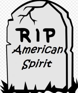 Tombstone American spirit