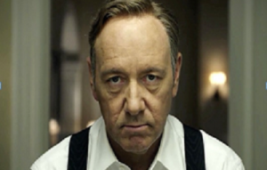 "Kevin Spacey as ""Francis"""