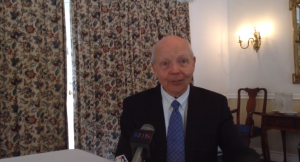 The man now stuck with the IRS Scandal, John Koskinen.