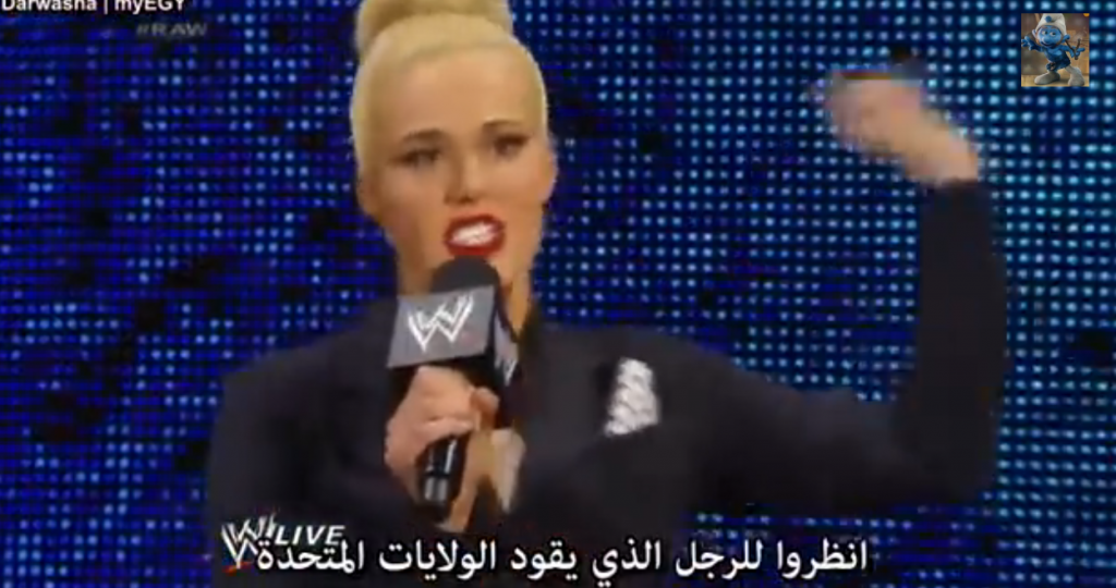 Lana calls President Obama a sissy girly man in hilarious comparison with Vladamir Putin on WWE TV special
