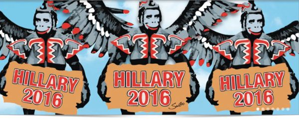 hillary flying monkeys
