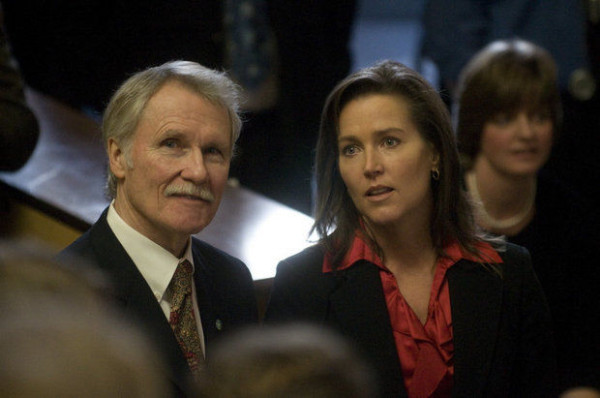 A contented looking couple--with Kitzhaber smiling at the camera. Image Credit: The Oregonian
