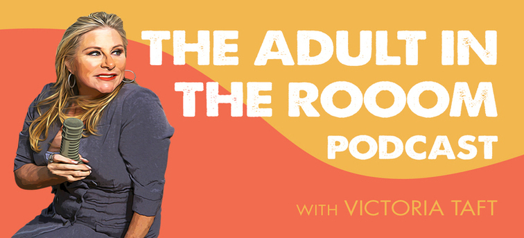 The Adult in the Room Podcast Image created by Hagemann Creative